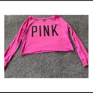 Victoria's Secret PINK Crop Top! Size Large